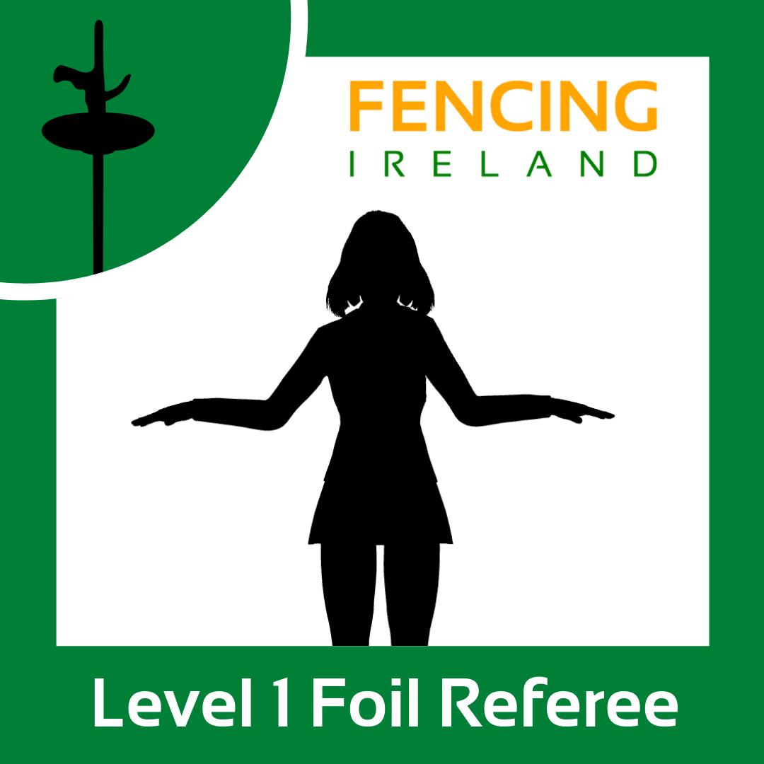 Level 1 Foil Referee Graphic