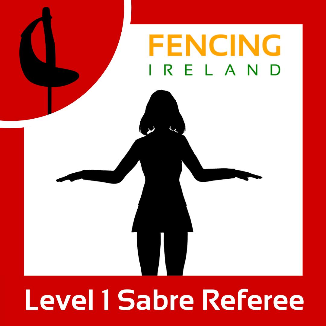 Level 1 Sabre Referee Graphic
